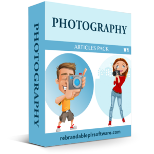 Photography Box Cover